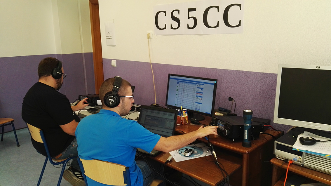 CR7ARB and F4VSE operating CS5CC