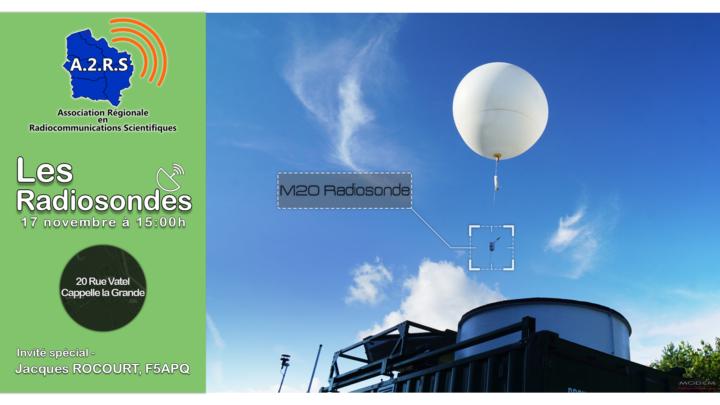 Conférence – Les radiosondes et ballons météorologiques