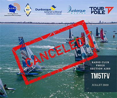 Annulation du TM5TFV (Tour de France à la Voile Dunkerque)